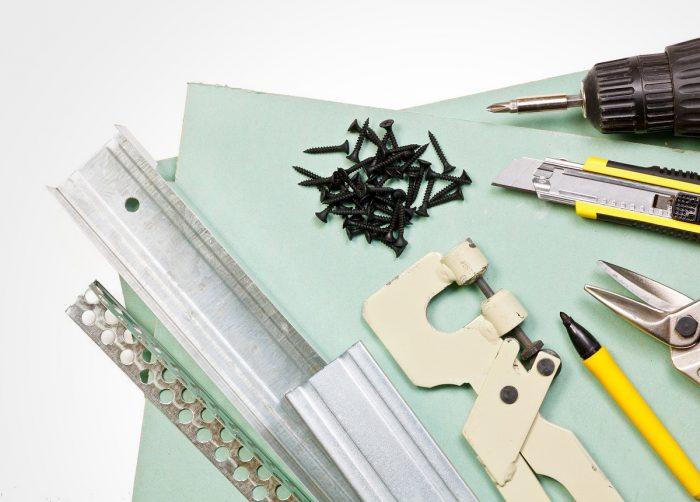 материалы и инструменты для монтажа