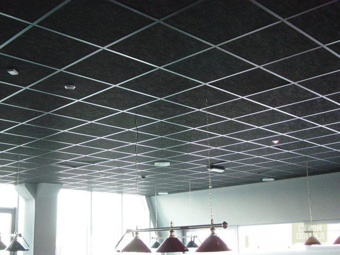 потолочные панели Армстронг