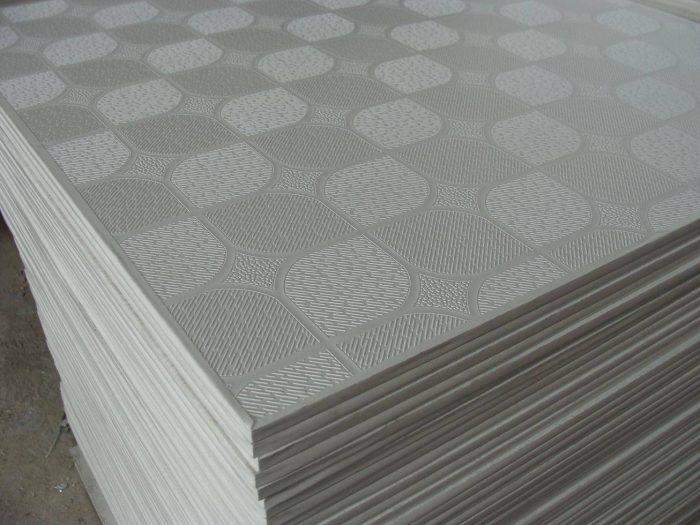 размеры плитки для потолка