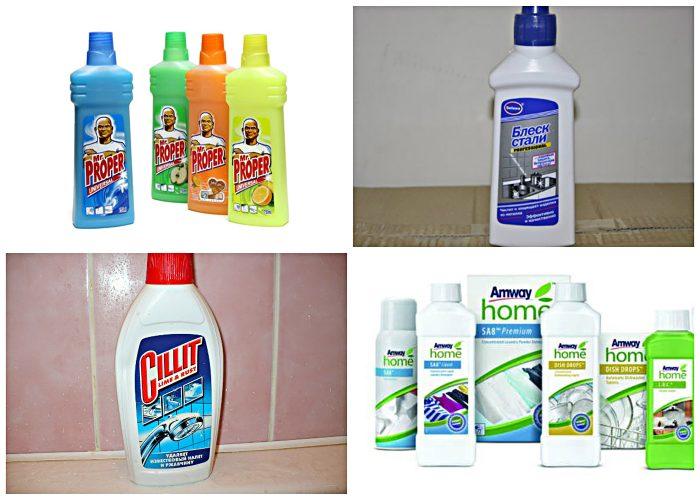 средства для чистки потолка