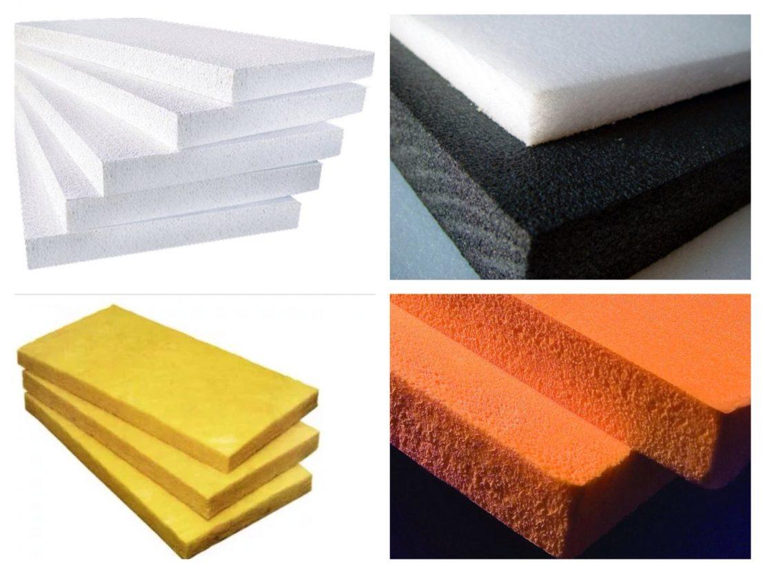 разновидности теплоизоляционных материалов
