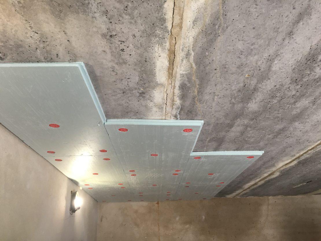 утеплить потолок в гараже изнутри