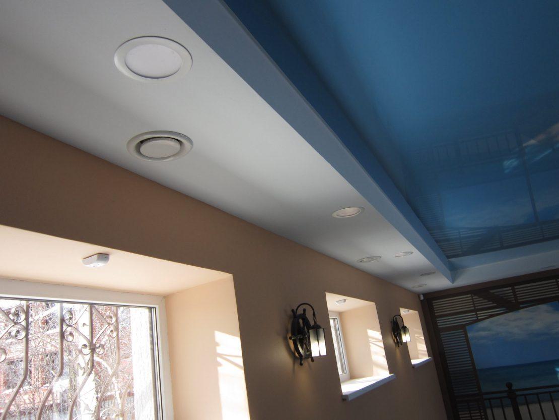 вентилятор в подвесной потолок