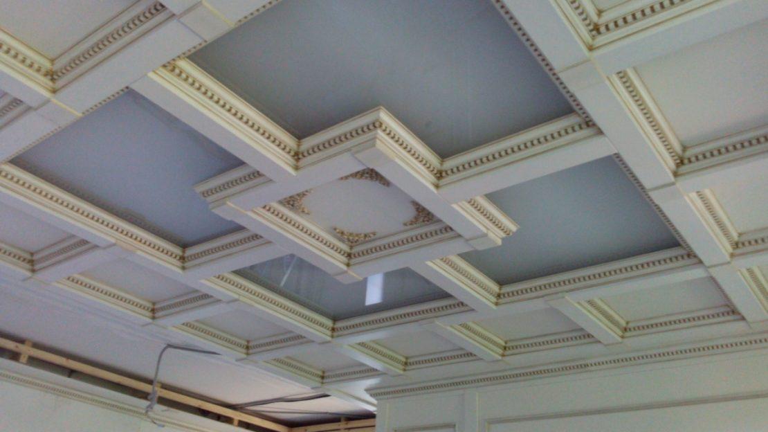 кессонные потолки из МДФ