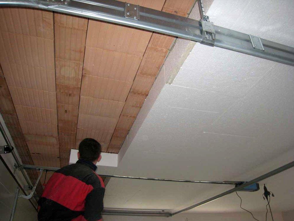 утепление потолка изнутри комнаты