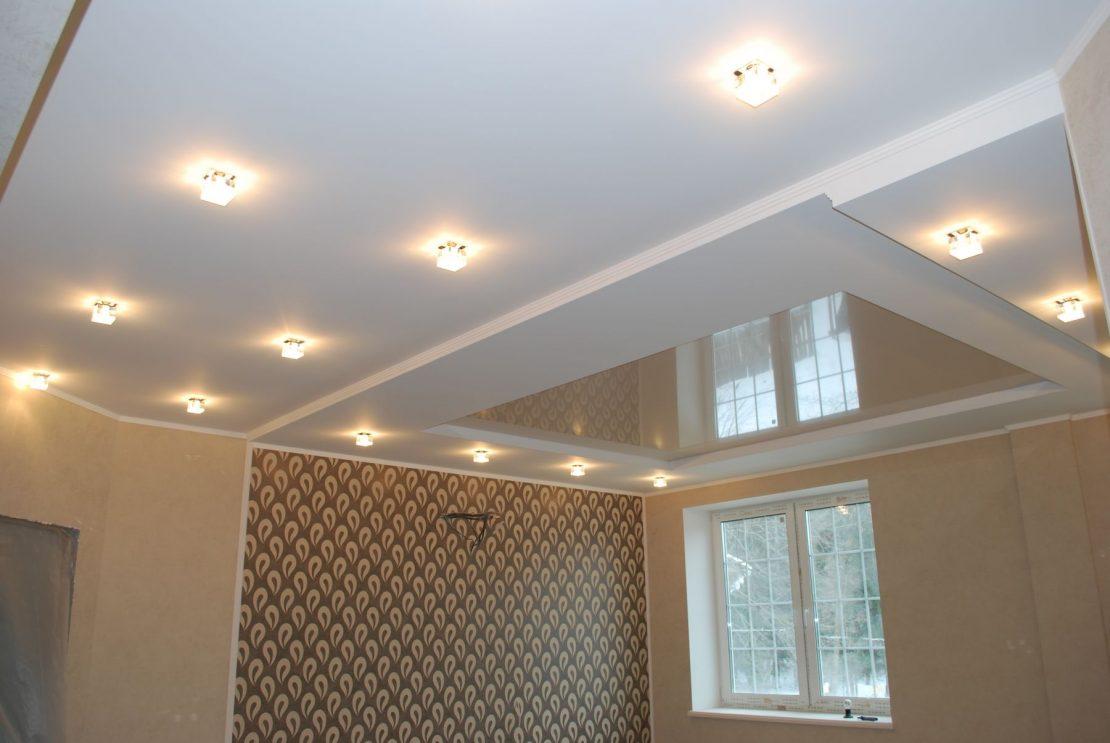 подвесной или натяжной потолок
