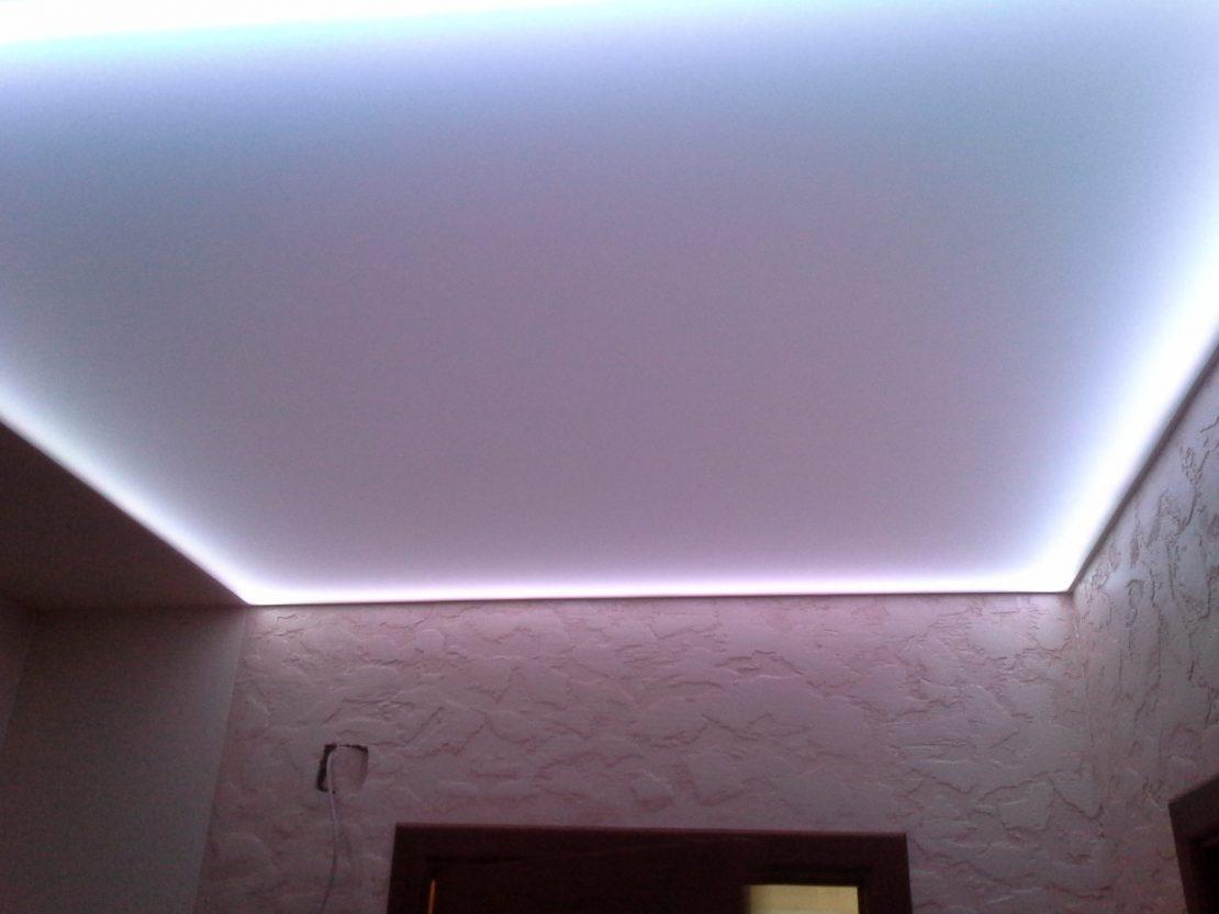 подсветка по периметру потолка