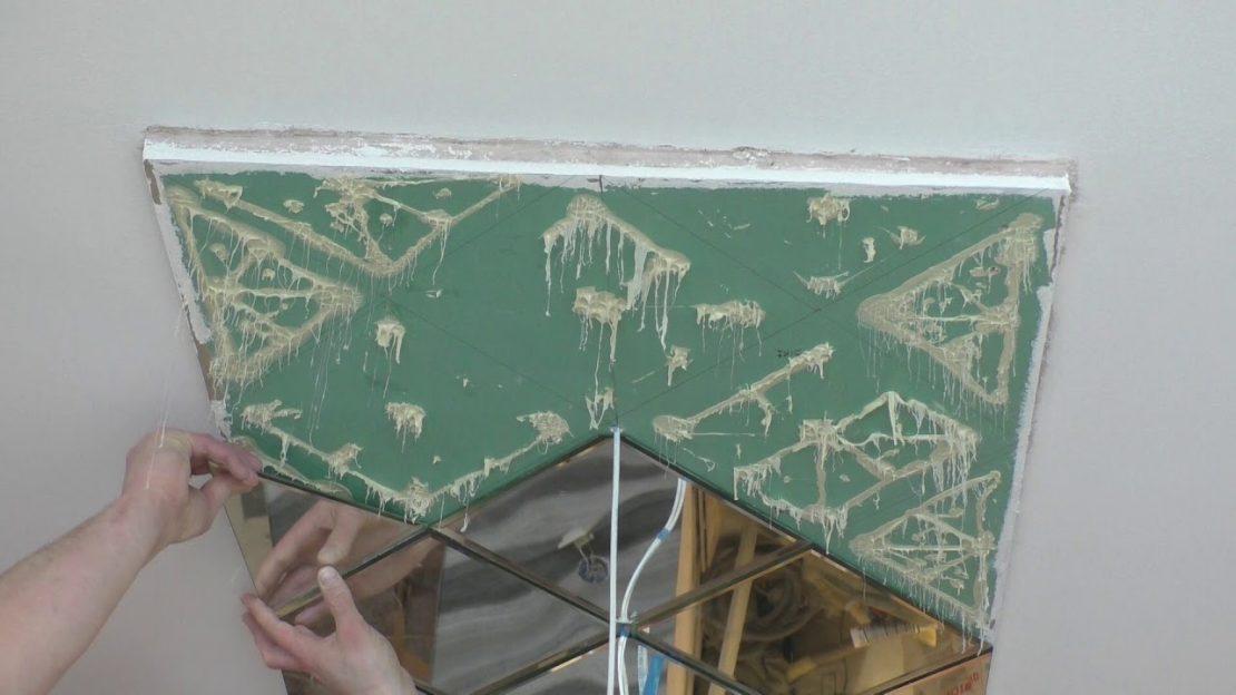 укладка стеклянных плиток на клей