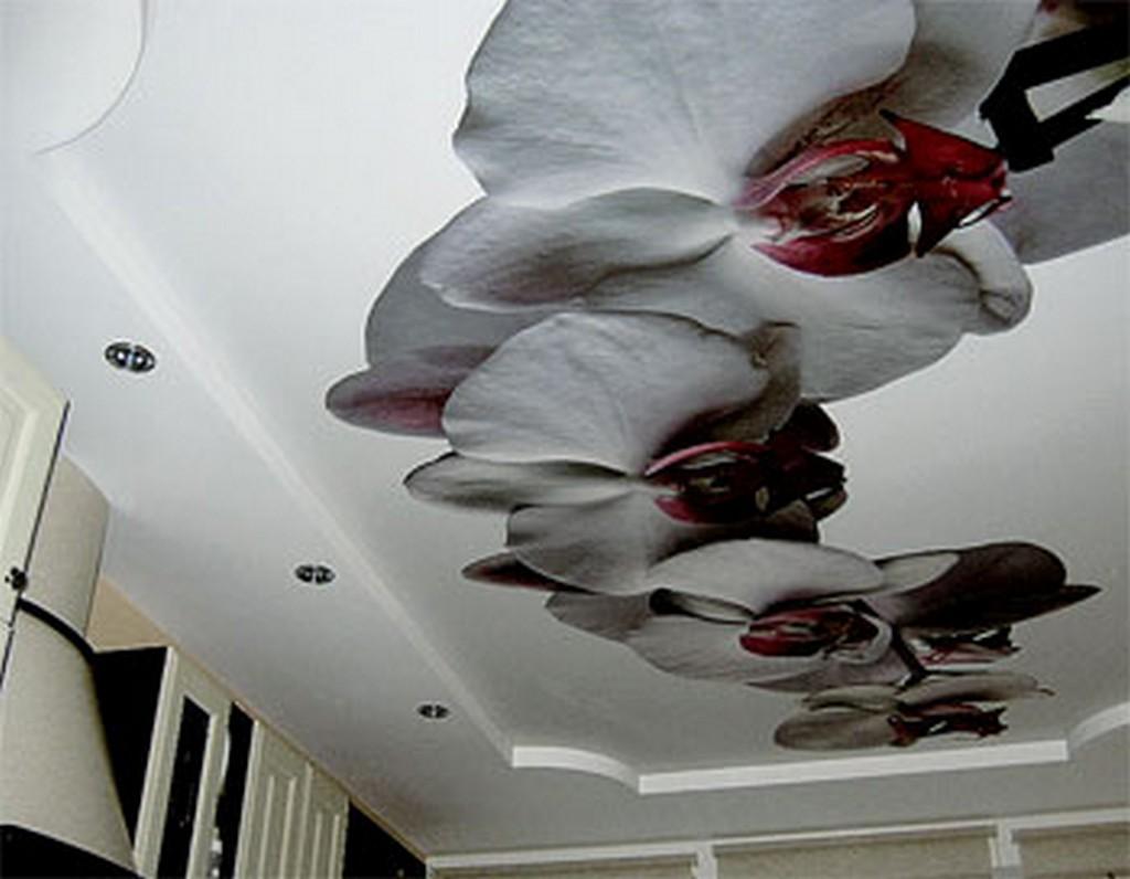 варианты декорирования порезанного потолка