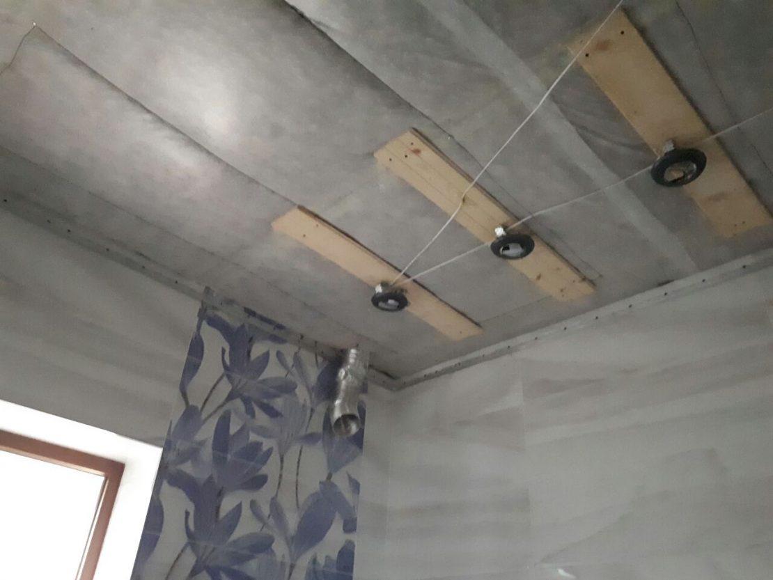закладные под встроенные светильники